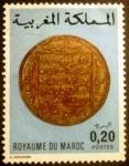 Sellos de Africa - Marruecos -  Monedas antiguas. Gold Coin (different)