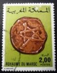 Sellos de Africa - Marruecos -  Monedas antiguas. Copper Coin