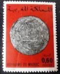 Sellos de Africa - Marruecos -  Monedas antiguas. Medieval Silver Mohur
