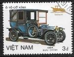Sellos del Mundo : Asia : Vietnam : Coches antiguos - Landaulet