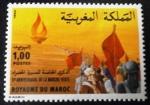 Sellos de Africa - Marruecos -  5º Aniversario de la Marcha Verde