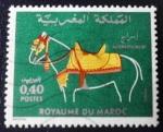 Sellos de Africa - Marruecos -  Enjaezamiento de caballo