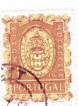 Sellos del Mundo : Europa : Portugal :  ESCUDO- UNIVERSIDAD DE EVORA