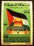 Sellos de Africa - Marruecos -  Pro-Palestina