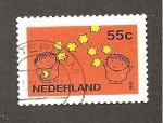 Sellos del Mundo : Europa : Holanda :  RESERVADO DAVID MERINO