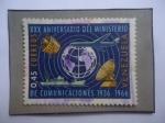 de America - Venezuela -  XXX Aniversario del Ministerio de Comunicaciones (1936-1966) - Emblema.