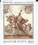 sello : Europa : Hungría : Gabor Belén, Caballo (Equus ferus caballus)