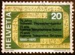 Sellos de Europa - Suiza -  Agencia Telegráfica Suiza