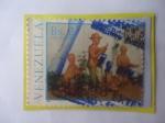 de America - Venezuela -  Figuras de Barro para Decorar Pesebres Navideños - Navidad 1986- Artesanía.-