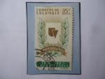 de America - Colombia -  Universidad del Valle (1910-1960) - Valle del Cauca - Emblema.