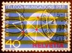 de Europa - Suiza -  50 años de Radio Suiza (Telecomunicaciones)