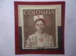 de America - Colombia -  Manuelita de la Cruz(1753-1829)- Mártir ecuatoriana del Deber (25.XI1955) - Cruz Roja Nacional