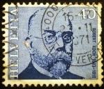 Sellos de Europa - Suiza -  Celebridades. Robert Koch