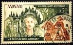 Sellos del Mundo : Europa : Mónaco :  350º Aniversario del nacimiento de Charles Perrault