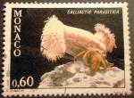 Sellos de Europa - Mónaco -  Corales. Calliactis parasitica