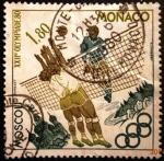 Sellos de Europa - Mónaco -  Juegos Olímpicos de Moscú