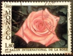 Sellos de Europa - Mónaco -  1º Salón International de la rosa