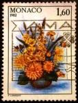 Sellos de Europa - Mónaco -  Concurso Internacional de flores. Bowl of Flowers