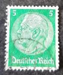 Sellos del Mundo : Europa : Alemania :  Paul von Hindenburg (Imperio Alemán)