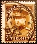 Sellos de Europa - Bélgica -  Rey Alberto I