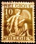 Sellos de Europa - Bélgica -  Ceres