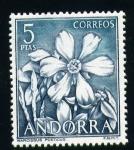 Sellos del Mundo : Europa : Andorra : Narcissus Poeticus