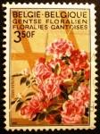 Sellos del Mundo : Europa : Bélgica : Exhibición de Flores en Gante