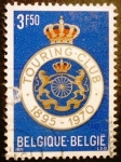 Sellos del Mundo : Europa : Bélgica : 75º Aniversario de Touring-club