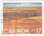 Sellos del Mundo : America : Canadá : 75 aniversario Saskatchewan