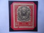 de America - Rep Dominicana -  Escudo de Armas - Sello de 2 Ctvs. Dominicanos, año 1911.