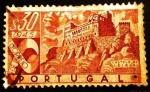 Sellos de Europa - Portugal -  Castillos Portugueses. Castelo de Leiria