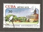 sello : America : Cuba : INTERCAMBIO