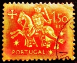 Sellos de Europa - Portugal -  Caballeros medievales