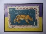 Sellos del Mundo : America : Ecuador : Puma Concolor - IV Centenario de la Fundación de Baeza (15579-1959)Por el Español Gil Ramírez Dávalo