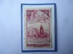 Sellos del Mundo : America : Ecuador : Monumento a la Línea Ecuatorial 1936 (Línea imaginaria que divide al Mundo.