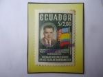 Sellos del Mundo : America : Ecuador : Visita del Vicepresidente de los EE .UU. Richard Nixon de Norteamérica- Sello de 2,00 Sucre Ecuatori