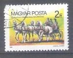 Sellos del Mundo : Europa : Hungría : carruajes Y2922