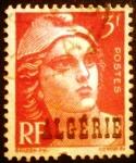 Sellos de Africa - Argelia -  Argelia Francesa. Tipo Marianne de Gandon