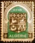 Sellos de Africa - Argelia -  Argelia Francesa. Escudo de armas de Oran