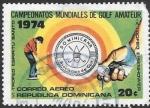 Sellos del Mundo : America : Rep_Dominicana :  golf