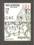 Sellos de Europa - España -  CAMBIADO JGR