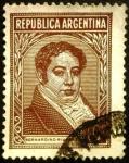 Sellos de America - Argentina -  Personajes. Bernardino Rivadavia