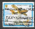 Sellos de Europa - Grecia -  1947 - Avión