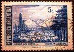 Sellos de America - Argentina -  Tierra del Fuego. Riqueza Austral