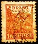 Sellos de America - Brasil -  Trigo. Agricultura