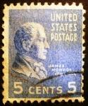 Sellos de America - Estados Unidos -  Presidentes. James Monroe