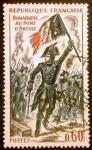 Sellos de Europa - Francia -  Historia. Bonaparte en el puente de Arcole