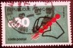 Sellos de Europa - Francia -  Campaña Código Postal