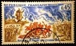 Sellos de Europa - Francia -  Batalla de Valmy