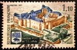 Sellos de Europa - Francia -  Castillo Fuerte de Sedán